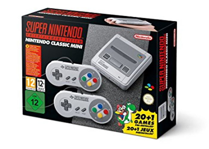 Nintendo SNES Mini with 2 Controllers - 1