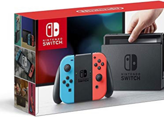 Nintendo Switch with 5 GAMES! - 1