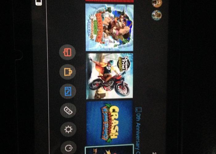 Nintendo switch w/ 25 games - 2