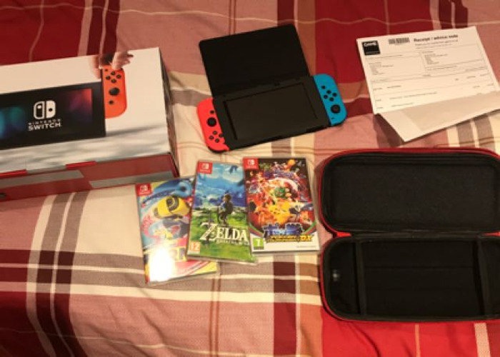 Nintendo Switch Ultimate Set With Games - 1