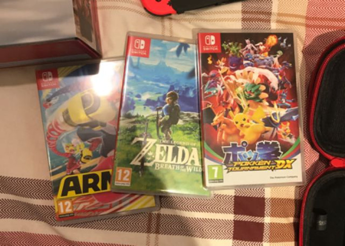 Nintendo Switch Ultimate Set With Games - 2