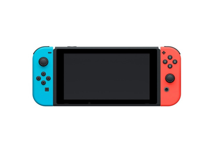 Nintendo Switch with Neon Blue and Neon Red Joy‑Con - New - 2
