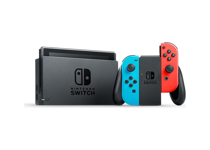 Nintendo Switch with Neon Blue and Neon Red Joy-Con - 1