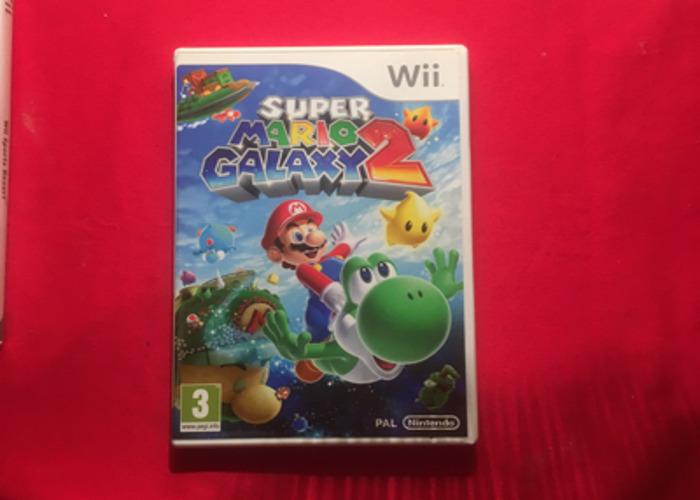 Nintendo Wii Super Mario Galaxy 2  - 1