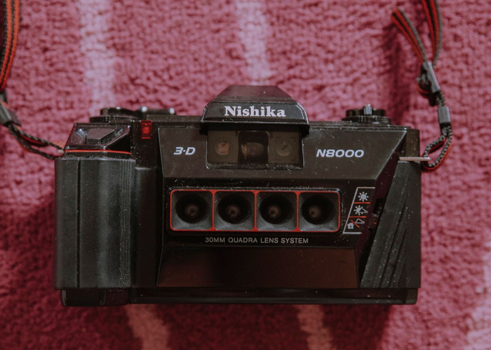Nishika 3D N8000 35mm film Camera - 1