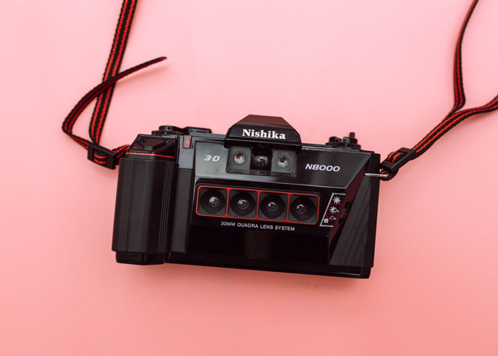 Nishika N8000 35mm 3D Film Camera - 1