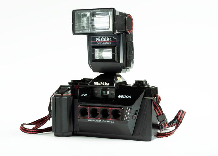 Nishika N8000 35mm film GIF camera • Nishika N8000 🤩 - 1