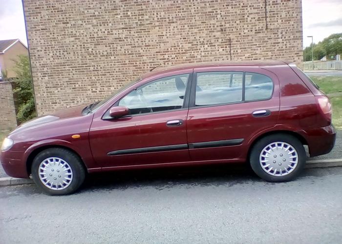 Nissan Almira automatic 2005 petrol 1.8L - 2