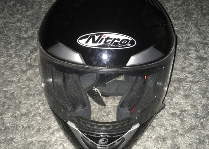 Motorcycle helmet - NITRO N-PSI PUMP HELMET - 1