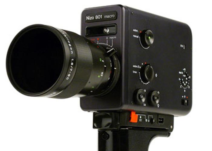 Nizo 801 Super 8mm Camera - 1