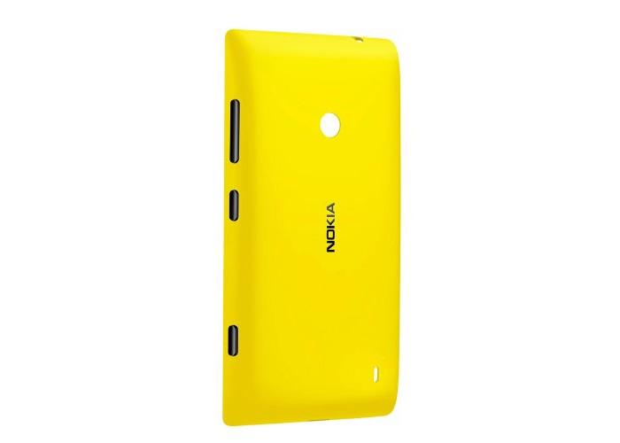 Nokia CC-3068 Protective Shell Case for Lumia 520 - Yellow - 1