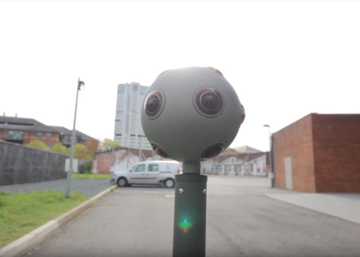 Nokia OZO 360 camera,  we have 2 of them and a mantis - 1
