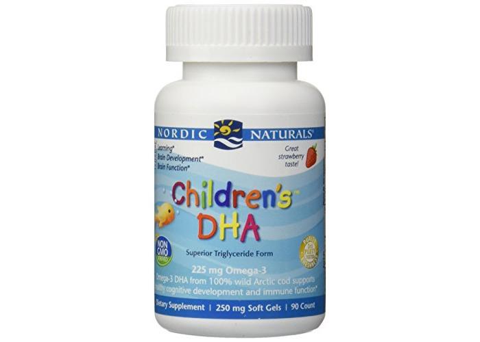 Nordic Naturals Children's DHA, 250mg, 90 Chewable Softgels - 1