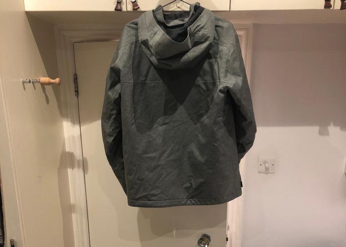 Northface gray waterproof ski jacket - 2