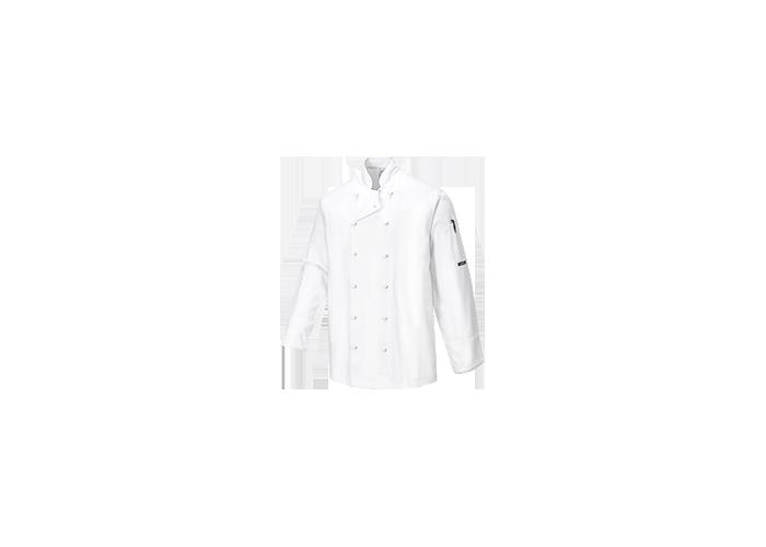 Norwich Chef Jacket  White  Medium  R - 1