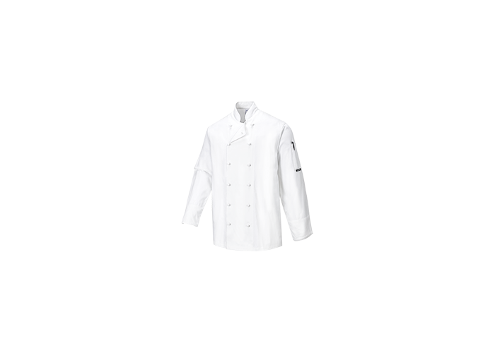 Norwich Chef Jacket  White  Small  R - 1