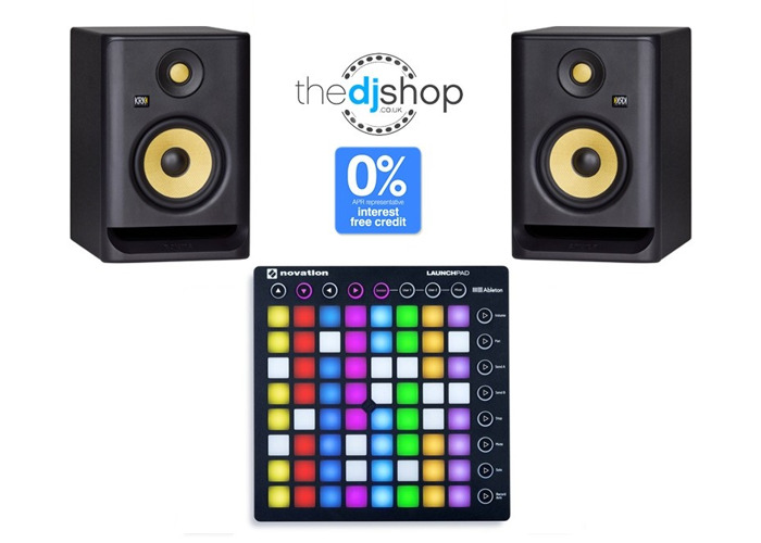 Novation LaunchPad and KRK RP5 Production Package - 2