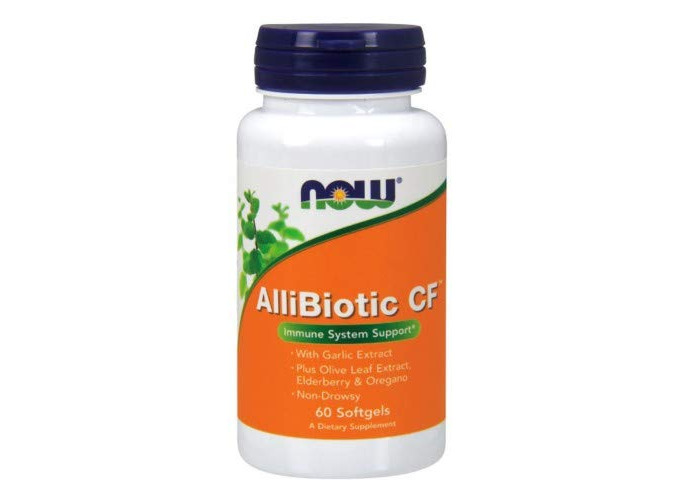 Now Foods, AlliBiotic CF, 60 Softgels - 1