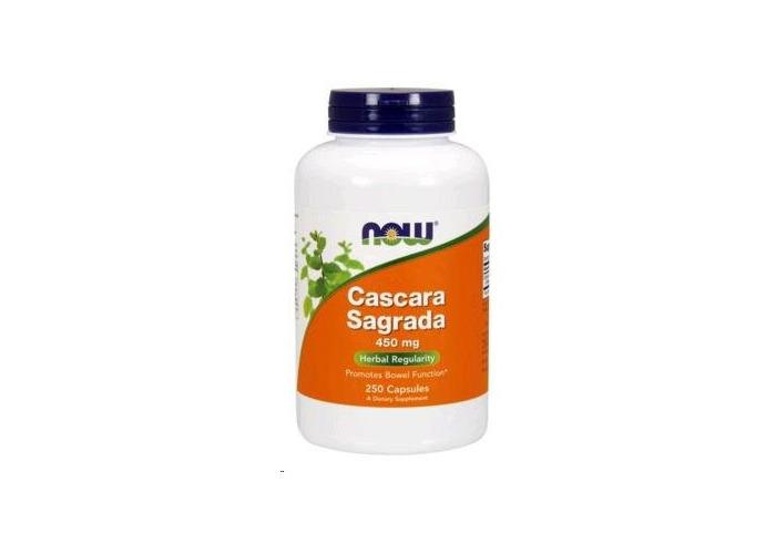 Now Foods Cascara Sagrada, 450 mg, 250 Capsules - UK Seller, 1 Units - 1