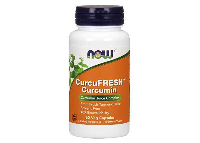 Now Foods Curcufresh&Trade; Curcumin, 60 Vegetarian Capsules, 1 Units - 1