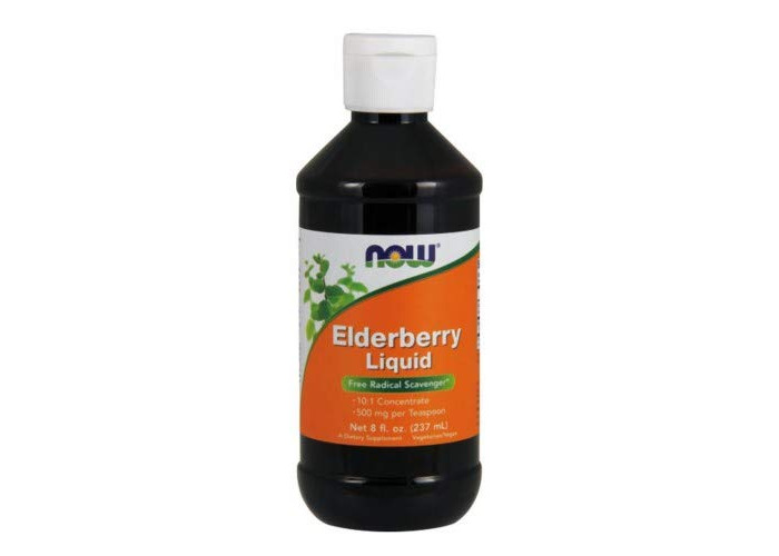 Now Foods, Elderberry Liquid, 8 fl oz (237 ml) - 1