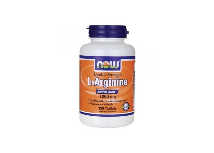 Now Foods L-Arginine, 1000mg, 120 Tablets - 1