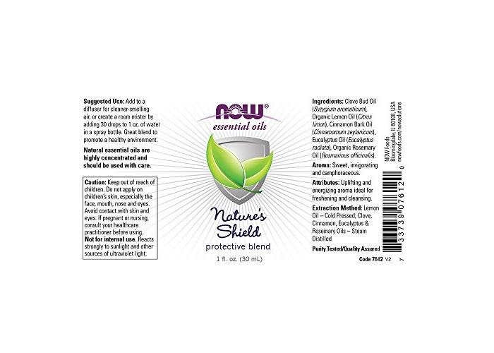 Now Foods Nature's Shield Protective Blend (Comparable to Thieves &Amp; On Guard Blend) - 1 fl. oz, 1 Units - 2