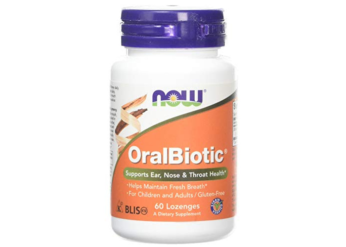 Now Foods, OralBiotic, 60 Lozenges - 1