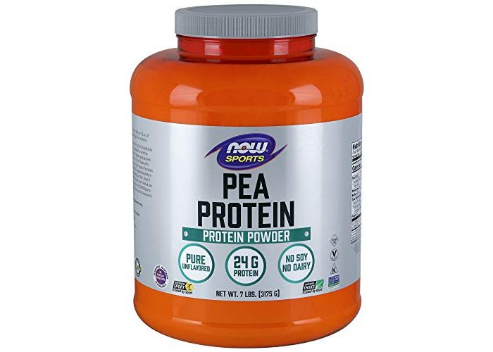NOW Foods Pea Protein Natural Unflavored 7 lb - 1