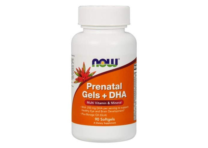 Now Foods Prenatal Gels + Dha, Multiple Vitamin &Amp; Mineral, 90 Softgels - 1 Units - 1