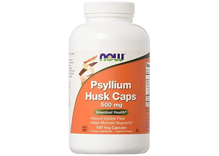 Now Foods Psyllium Husk Caps, 500mg, 500 Vegetarian Capsules - 1