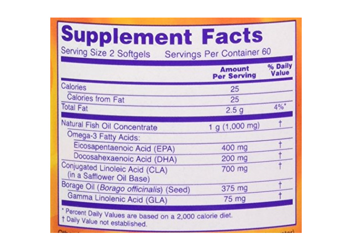 Now Foods Sports Omega with CLA, 120 Softgels - 2