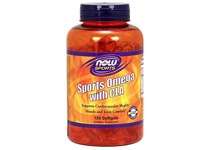 Now Foods Sports Omega with CLA, 120 Softgels - 1
