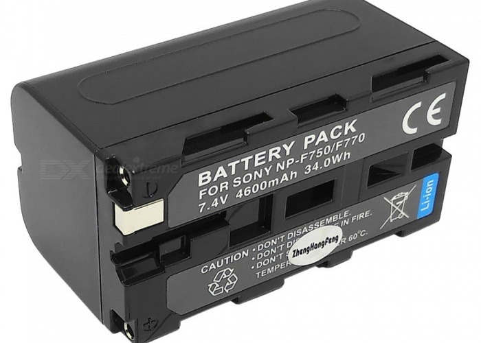 NP-F750 for Sony Battery - 1