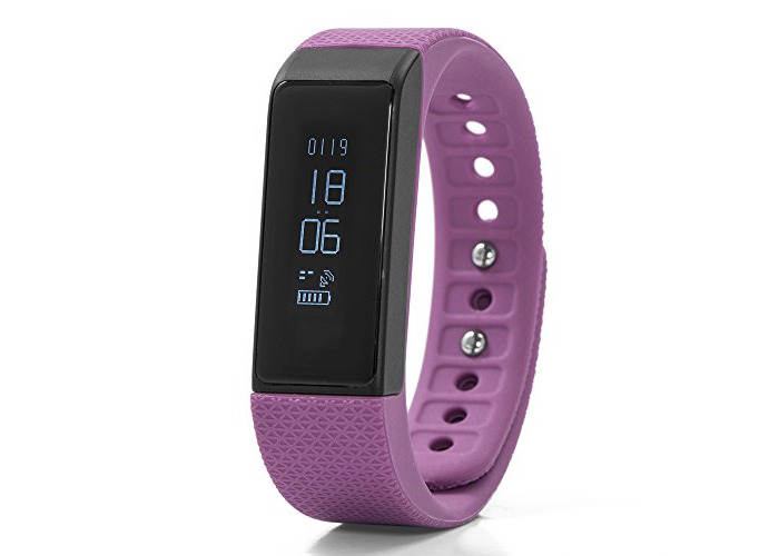 Nuband I Touch Activity Tracker with Sleep Tracking - Plum - 1