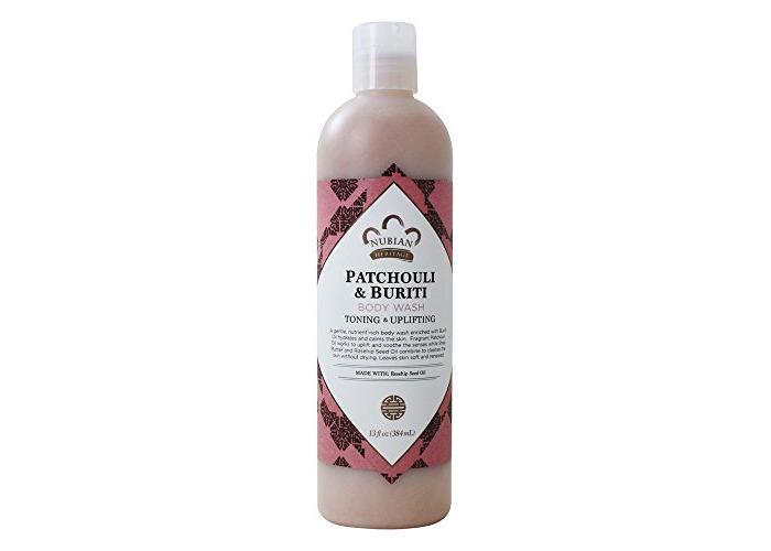 Nubian Heritage - Toning & Uplifting Body Wash Patchouli & Buriti - 13 fl. oz. - 2
