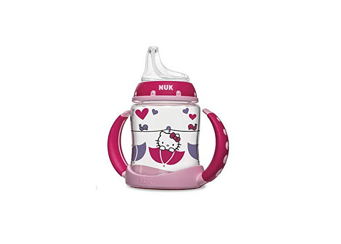 NUK Hello Kitty Silicone Spout Learner Cup, 5 Ounce - 1