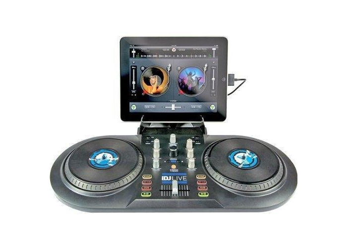 Numark iDJ Live   DJ Controller for iPad, iPhone or iPod Touch (30-pin) - 1