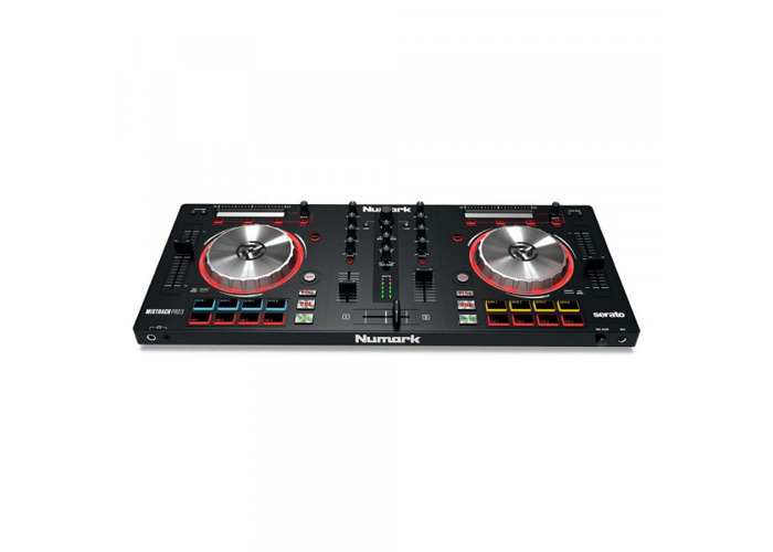 NUMARK Mixtrack Pro 3 DJ Controller for Serato DJ - 1