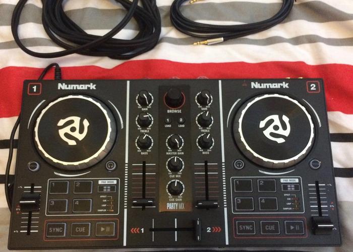 Rent Numark Party Mix USB DJ Controller in Hove | Fat Llama