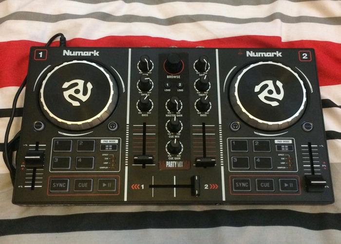 Rent Numark Party Mix USB DJ Controller in Hove