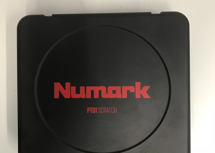 Rent Numark PT01 Scratch Portable Turntable in London | Fat