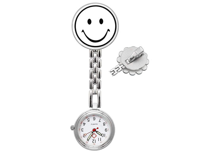 Nurses Fob Watch- Medical Pocket Watches with Clip On Brooch Hanging for Men Wom - 1
