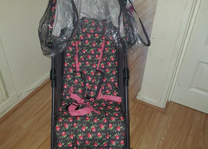 Obaby grey rose stroller - 1