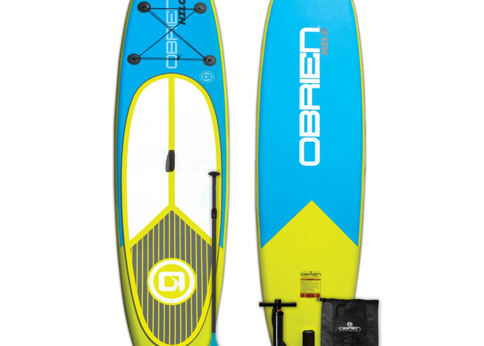 """O'Brien Hilo 10'6"""" inflateable SUP Standup board kit - 1"""