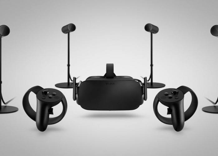 Oculus Rift HMD Touch Controllers and 2 x Sensors - 1