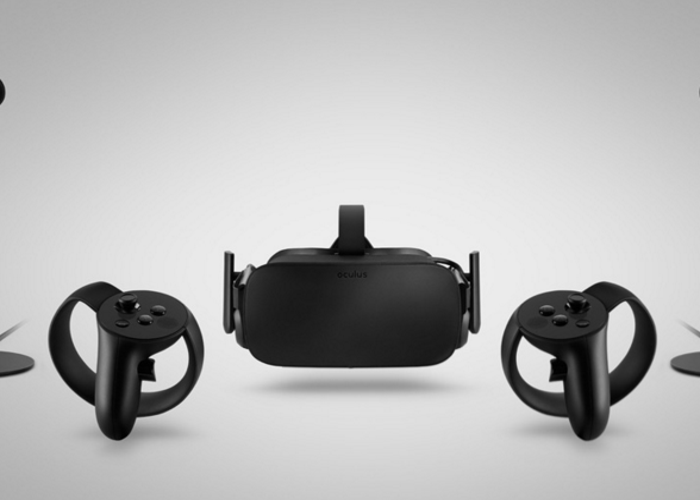Oculus Rift VR Touch Controllers and 2 x Sensors - 1