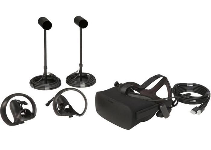 Oculus Rift with Touch and Protective Pele Travel Case - 1