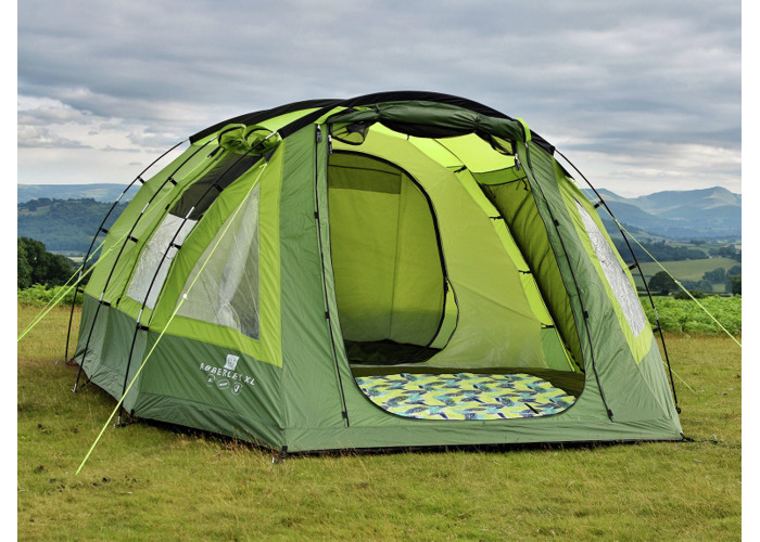 Olpro The Abberley XL 4 Man 2 Room Tent - 1