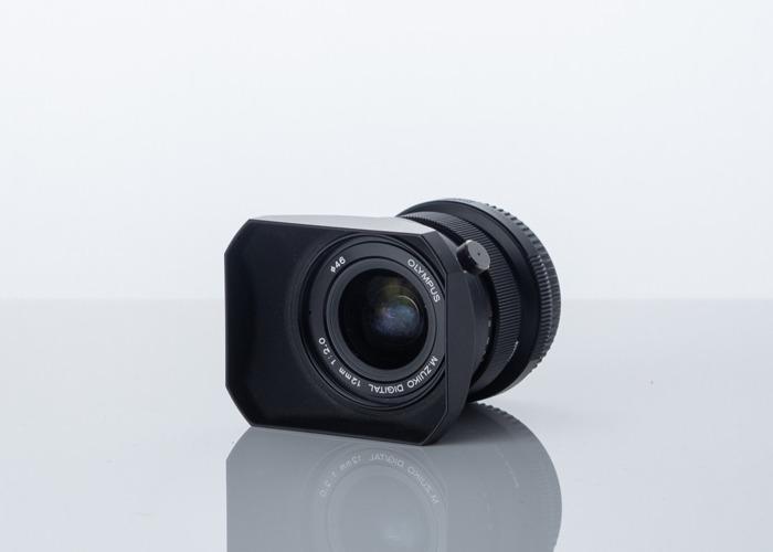 Olympus 12mm f2.0 Lens - 2